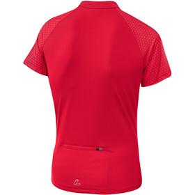 Löffler Rise Half-Zip Bike Shirt Women flamenco